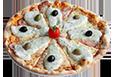 Pizza sa bešamel sosom