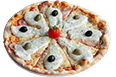 PIZZA WITH BECHAMEL SAUCE